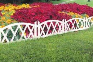 Как сделать заборчики для клумб и цветников легко, быстро и просто. 25 классных ограждений для клумб. | красивый дом и сад