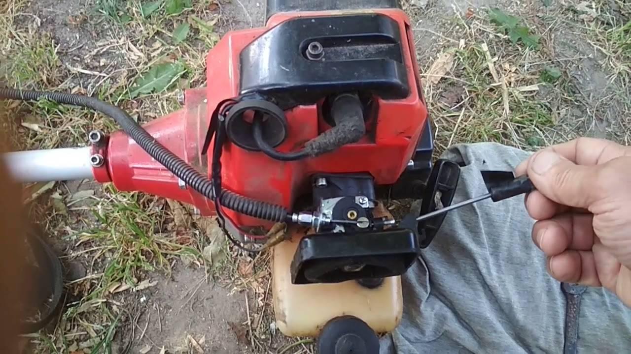 Настройка карбюратора бензокосы своими руками: регулировка на видео