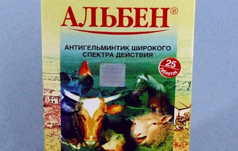 Альбен: инструкция по применению для животных - общая информация - 2020