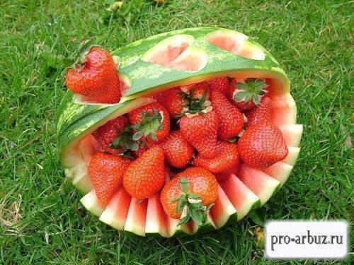Арбуз — это ягода или фрукт? сравнительное описание понятий
