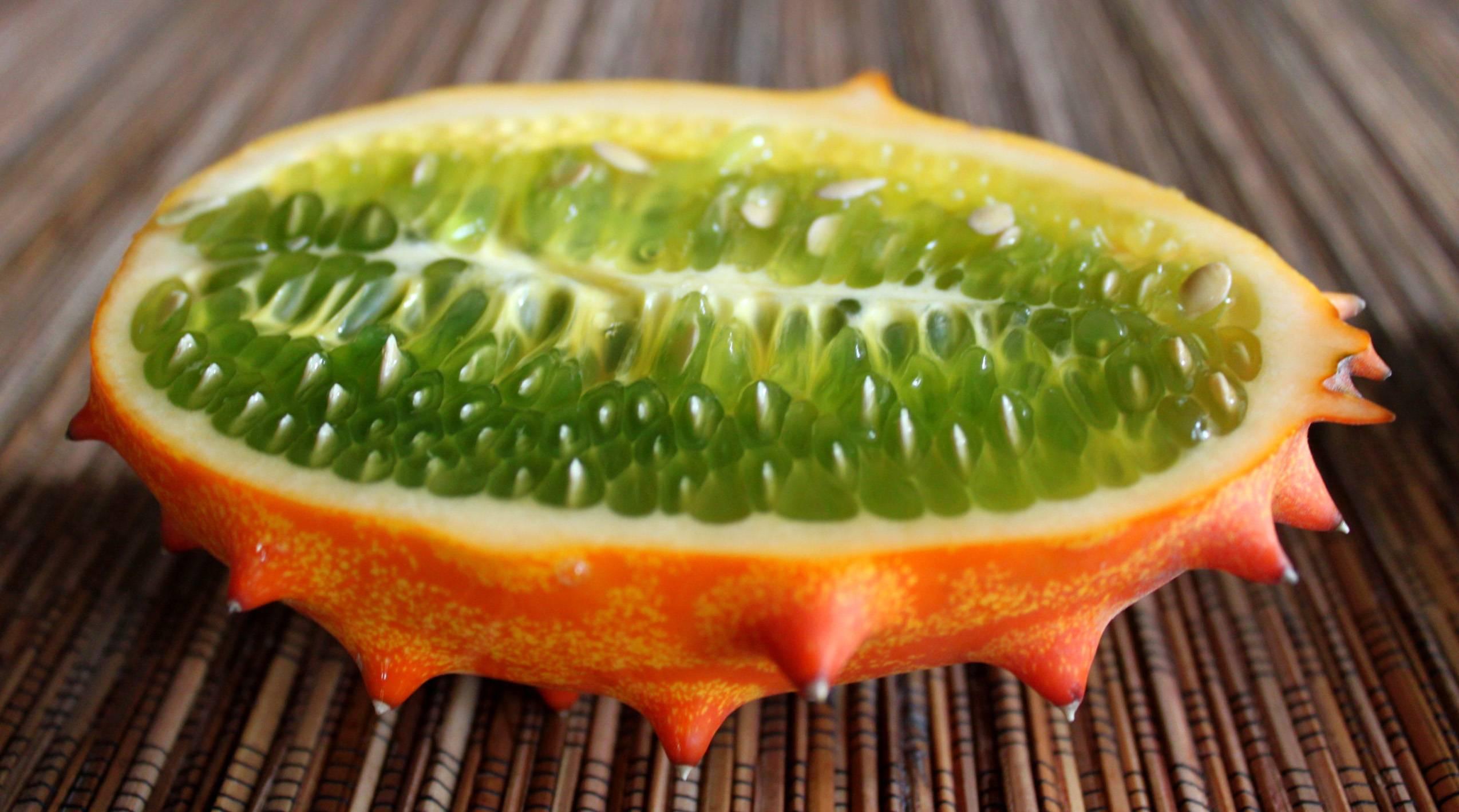 Кивано, рогатая дыня, африканский огурец — что это за фрукт?