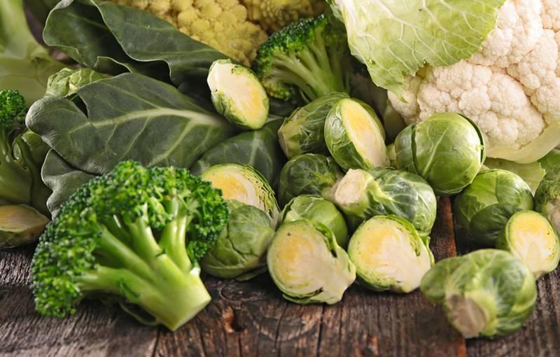 Запеченная брюссельская капуста