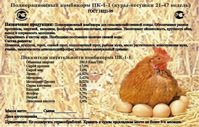 Особенности выбора, состав и цена комбикорма для кур несушек