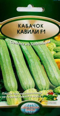 Кабачки кавили f1: описание сорта, фото, выращивание