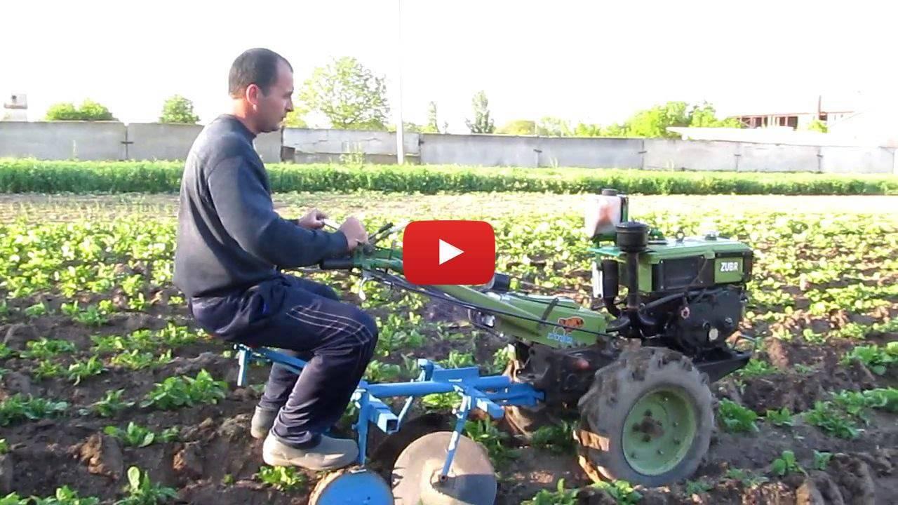 Окучивание картофеля с помощью мотоблока ока - видео