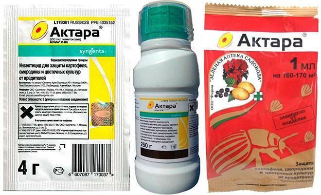 Инсектицид актара: инструкция поприменению ицены