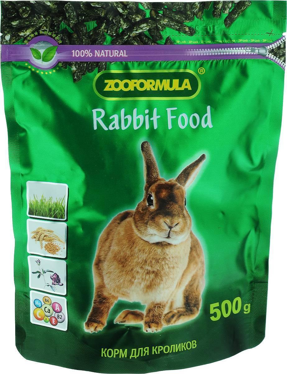 Корма, рационы, техника кормления кроликов - общая информация - 2020