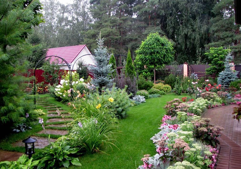 Клумбы возле дома - 18 красивых клумб возле дома. | красивый дом и сад