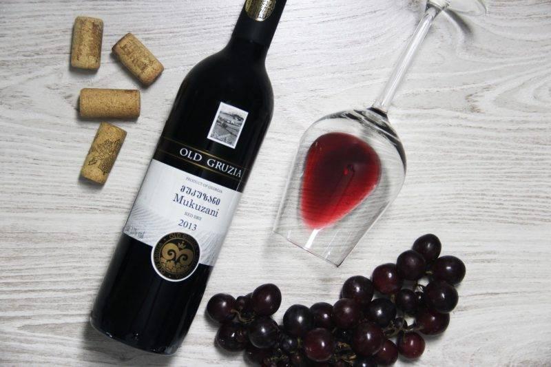 Описание винограда мукузани