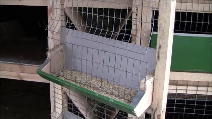 Кормушки для кроликов своими руками: фото, оригинальные идеи, видео