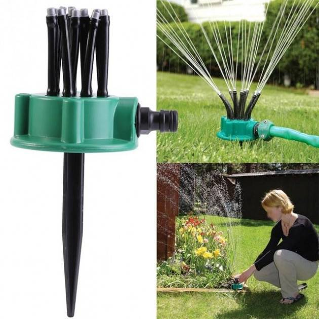 Система полива газона: описание, как сделать своими руками