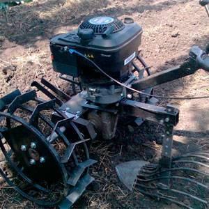 Вибрационная картофелекопалка, ккм 1 для мотоблока Нева, описание