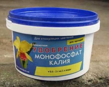Монофосфат калия, инструкция по применению, подкормка, состав