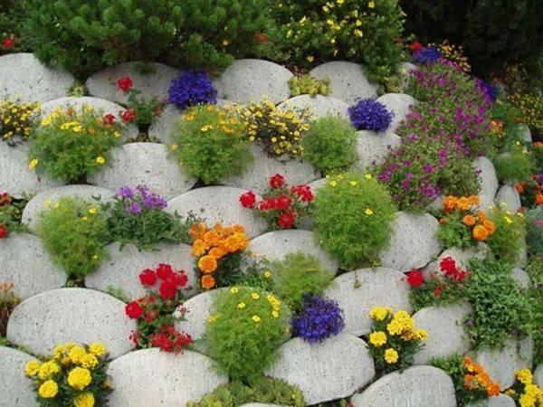 Клумбы и цветники на даче
