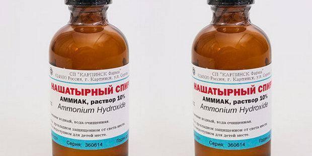 Нашатырный спирт - средство для подкормки и защиты от вредителей