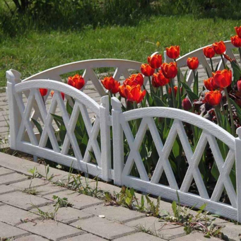 Садовые бордюры для ограждения грядок и клумб
