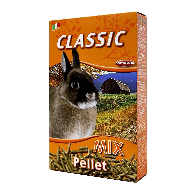 Комбикорм в гранулах для кроликов