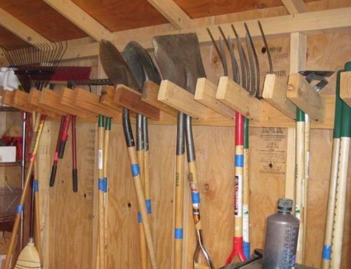 12 рациональных идей хранения инструмента
