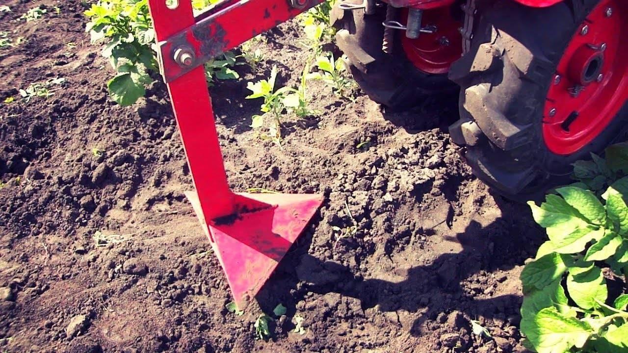 Как копать картошку мотоблоком. как копать картофель мотоблоком?
