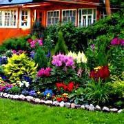 Клумба непрерывного цветения или как сделать ваш сад цветущим весь сезон?