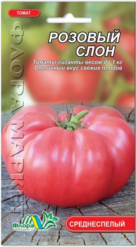 Розовый слон: описание сорта томата, характеристики помидоров, посев