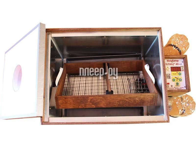 Обзор инкубатора для яиц «блиц»