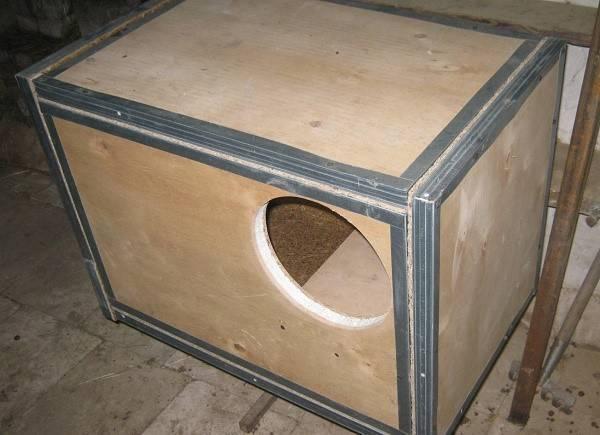 Маточник для кроликов своими руками — размеры и чертежи клеток