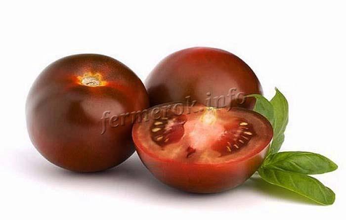 Лучшие сорта черных томатов: описание и фотографии