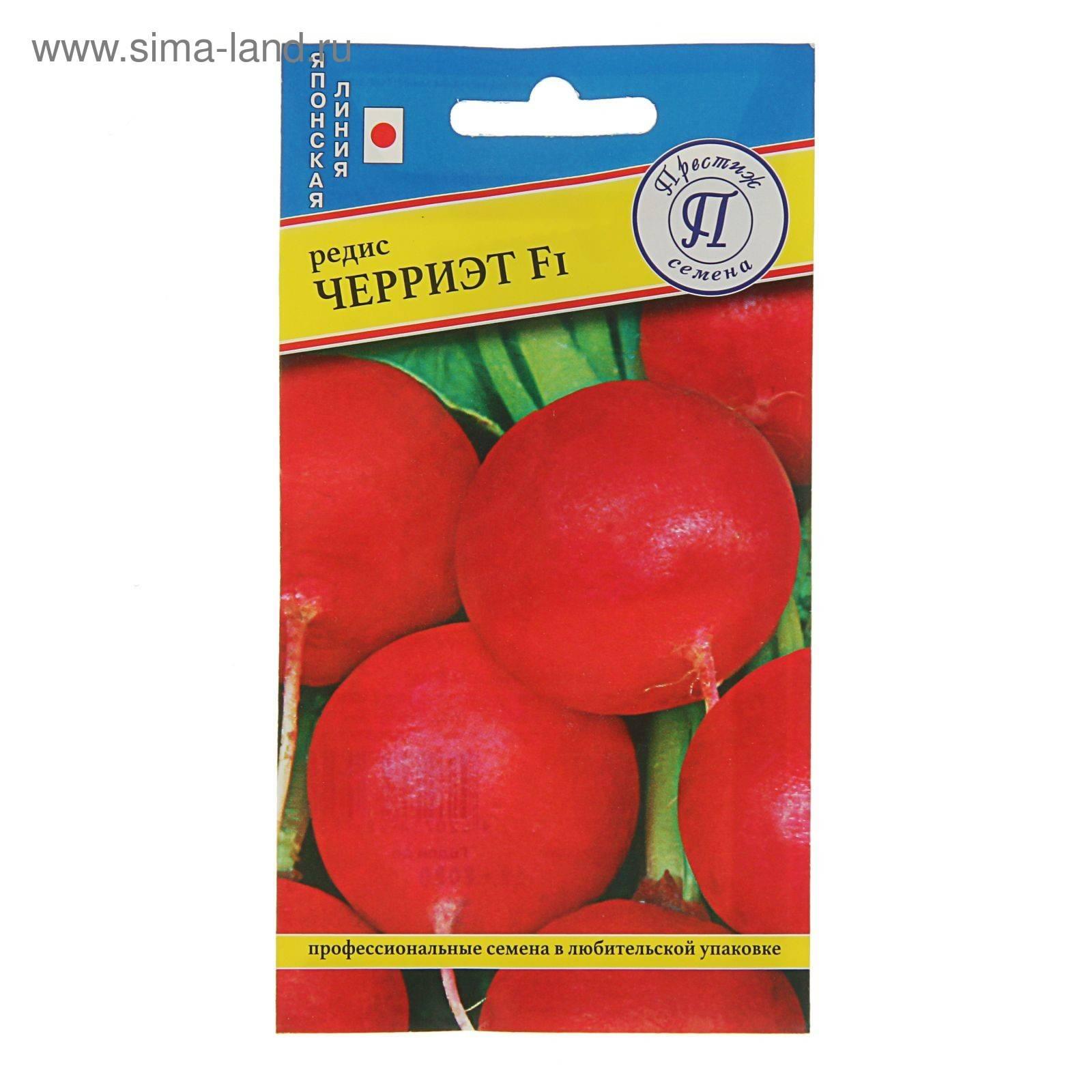 Сорт редиса черриэт f1 — описание и правила выращивания