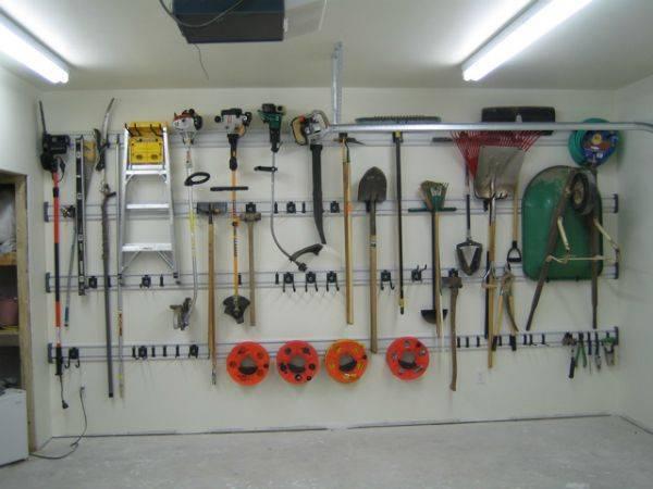 Хранение садового инвентаря. правила ухода за инструментом