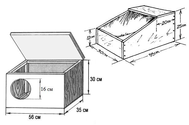 Клетки для кроликов - чертежи, инструкции