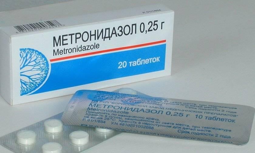Метронидазол для цыплят