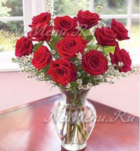 Как сохранить букет роз в вазе свежим длительное время?