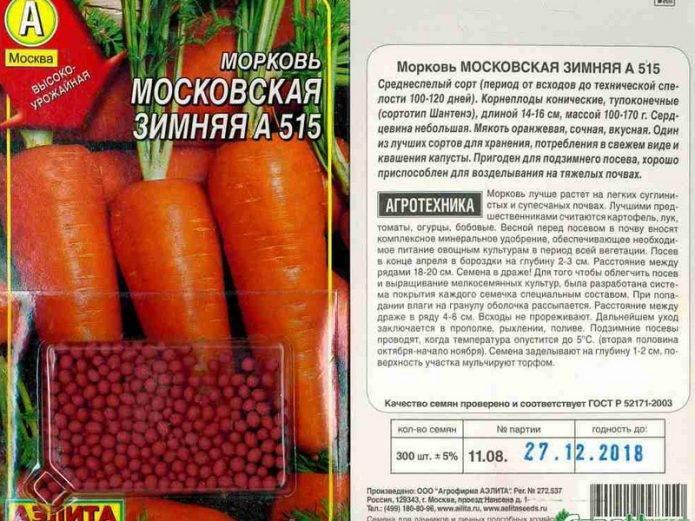 Благоприятные дни для посева моркови под зиму в 2020 году по луне и регионам