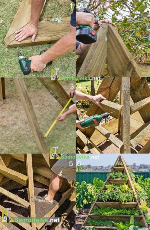 Грядка пирамида для клубники своими руками размеры. как выращивать клубнику в пирамидах