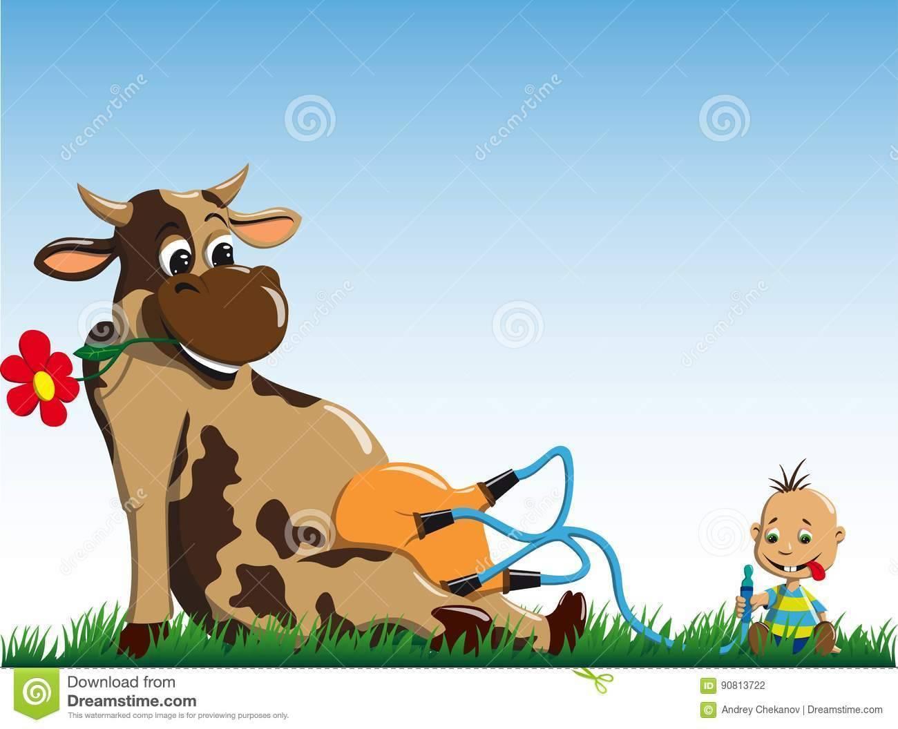 Почему корова резко сбавила молоко?