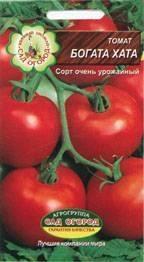 """Томат """"богата хата"""": отзывы, фото, урожайность, характеристика сорта"""