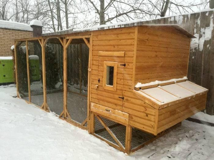 Зимний курятник на 10 кур своими руками (39 фото): чертежи с размерами, как построить сооружение для несушек