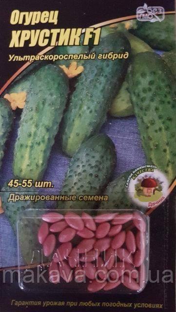 Огурец сорта хрустик