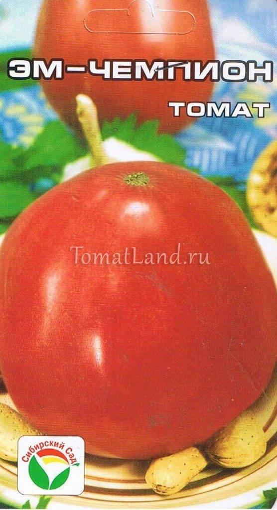 О томате Эм Чемпион: правила посадки, ухода, выращивания, размножения