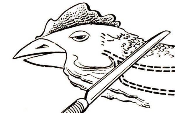Как разделать тушку курицы?