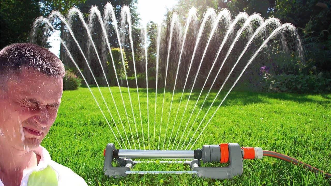 Как сделать систему автоматического полива газона своими руками